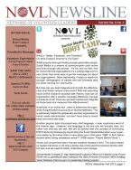Cover - 2012 Fall NOVL Newsline